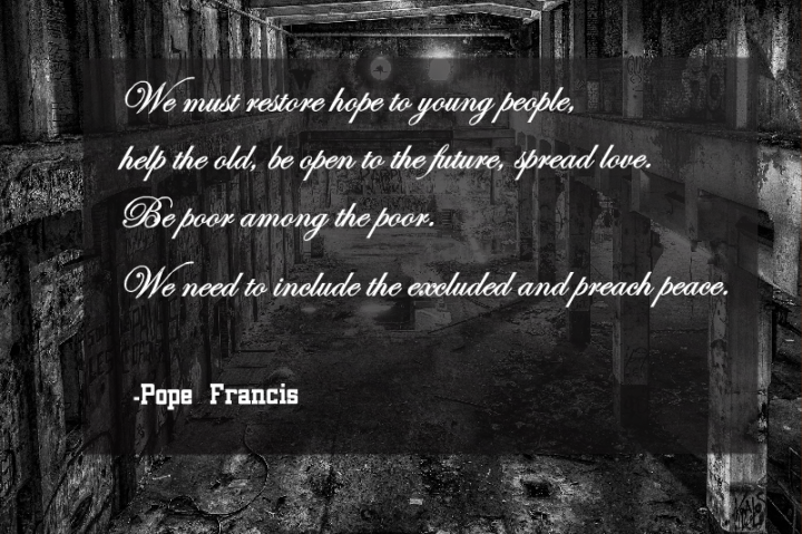 We must restore hope to young people